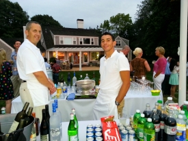 Our amazing staff; Tucker and Daniel
