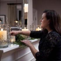 """""""Lighting is sometimes an overlooked party detail, but an easy one to get right. Use lots of candles. Nothing beats candlelight for a holiday party."""" Kelly GriffIn, co-owner of Kate's Table."""