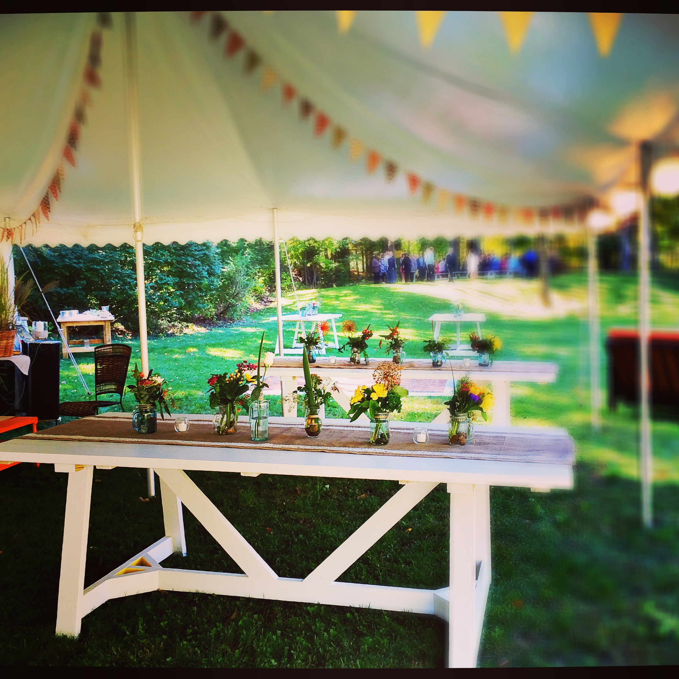 rustic autumn backyard wedding kate u0027s table catering u0026 events