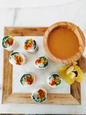 veg fresh rolls
